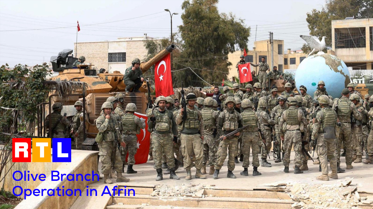 Olive Branch Operation in Afrin – RTL